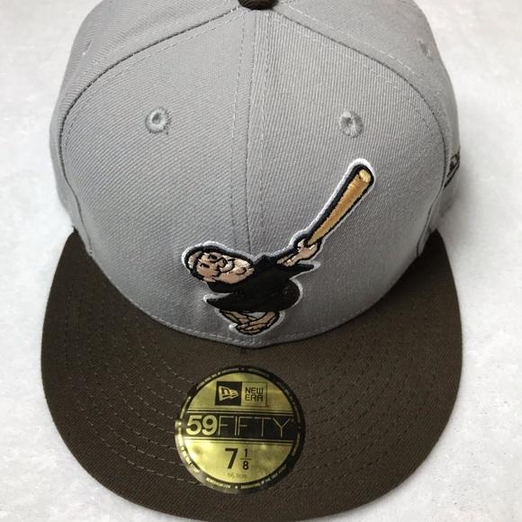 New Era San Diego SD Padres 59fifty Hat Size 7-1 8 d7f91b1bb1b3